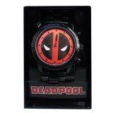 Marvel: Deadpool Logo - Gunmetal Bracelet Watch