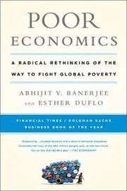 Poor Economics by Abhijit Banerjee image
