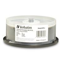 Verbatim BD-R DL 50GB Spindle White WideThermal 6x (25 Pack) image