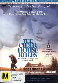 The Cider House Rules on DVD image