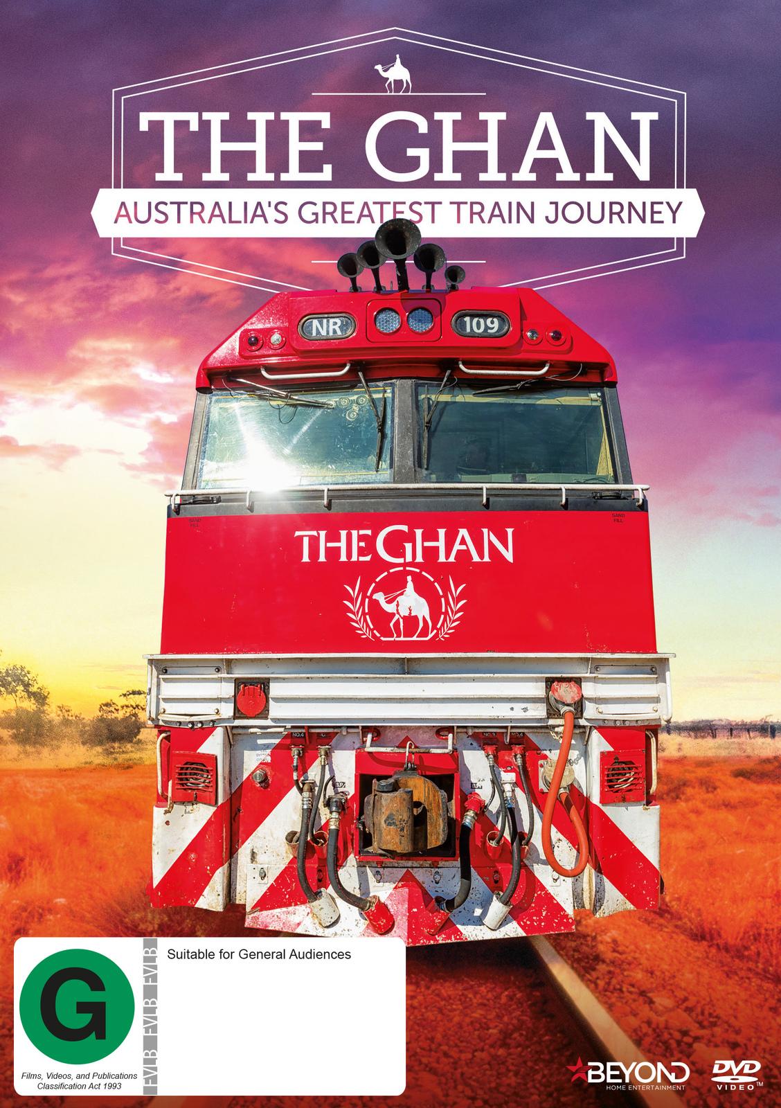 The Ghan: Australia's Greatest Train Journey on DVD image