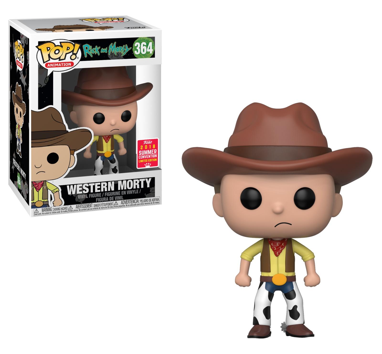 Rick & Morty - Western Morty Pop! Vinyl Figure image