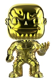Avengers: Infinity War - Thanos (Yellow Chrome) Pop! Vinyl Figure