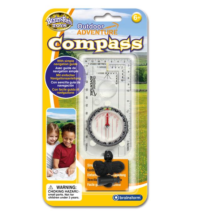 Brainstorm Toys: Outdoor Adventure Compass