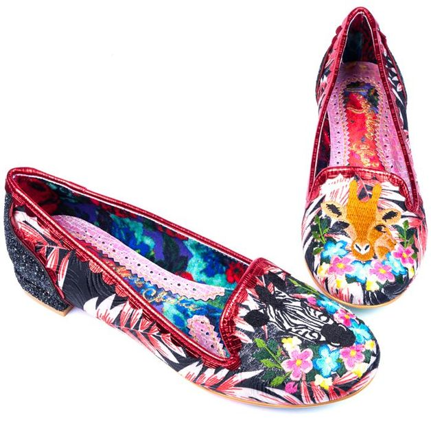 Irregular Choice: Savannah Black - Size 38 EU