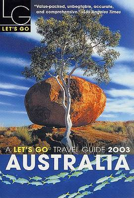 Let's Go Australia 2003 by Let's Go Inc image