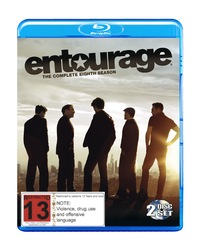 Entourage - The Complete Eighth Season on Blu-ray
