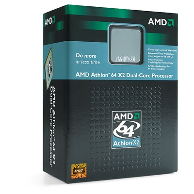 AMD Athlon 64 X2 4000+ Dual Core 64Bit SKT AM2 2000MHZ Hyper Transport image