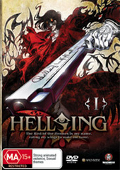 Hellsing Ultimate Vol. 1 on DVD