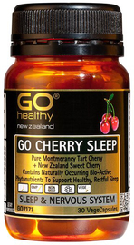 Go Healthy: GO Cherry Sleep (30 Capsules)