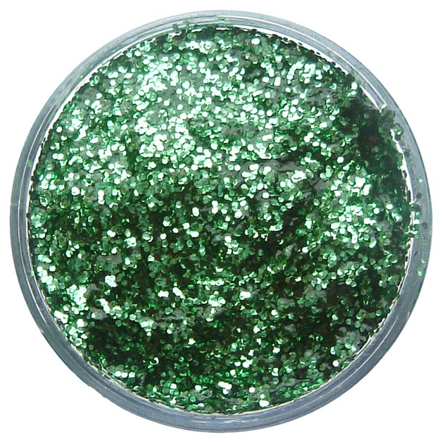 Snazaroo Glitter Gel - Bright Green (12ml)