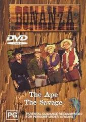 Bonanza: The Ape + The Savage on DVD