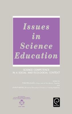 Issues in Science Education by Torsten Husen image