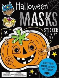 Sticker Activity Books Halloween Masks Sticker Activity Fun by Make Believe Ideas, Ltd.