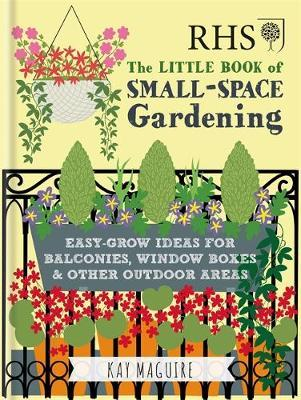 RHS Little Book of Small-Space Gardening by Kay Maguire image