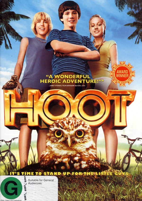 Hoot on DVD image