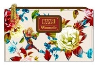 Loungefly: Captain Marvel - Floral Flap Wallet