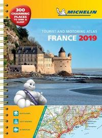 France 2019 - A3 Tourist & Motoring Atlas