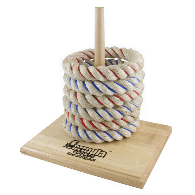 Formula Sports: Wooden Rope Quoits - Lawn Game