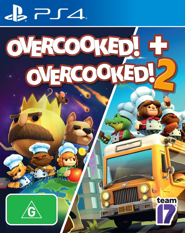 Overcooked + Overcooked 2 Double Pack for PS4