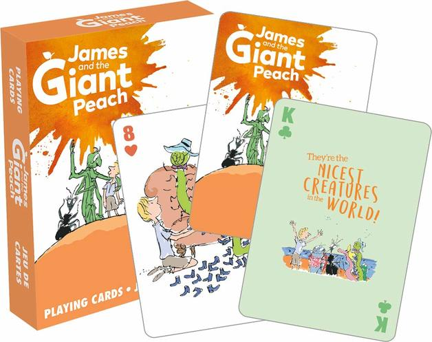 Roald Dahl James & The Giant Peach Playing Cards