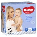 Huggies: Ultra Dry Boy Nappies Jumbo Pack - Size 3 (90 Pack)