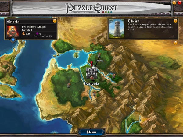 Puzzle Quest: Challenge of the Warlords (Jewel Case packaging) for PC Games image