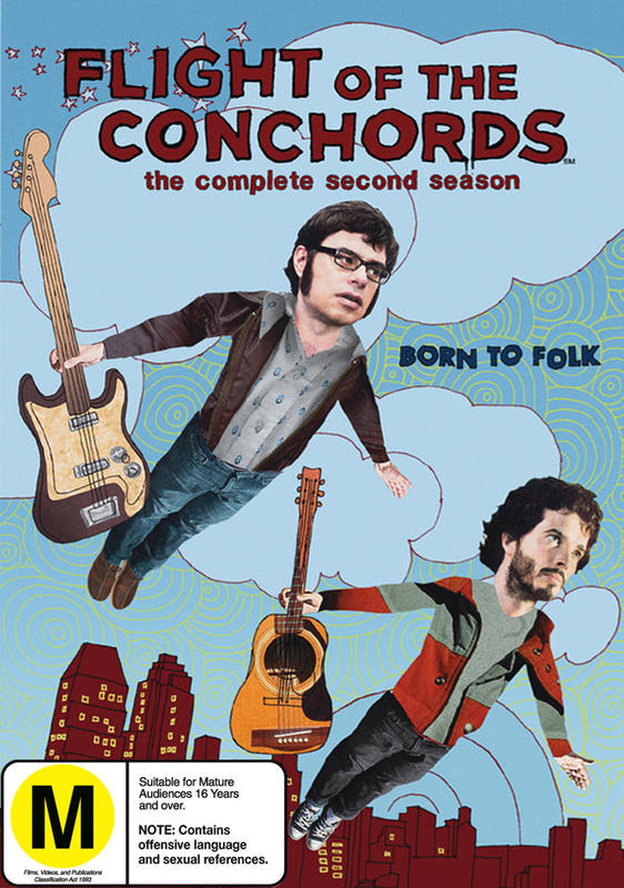Flight of the Conchords - The Complete Second Season on DVD
