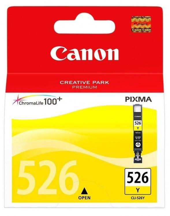 Canon Ink Cartridge - CLI526Y (Yellow)