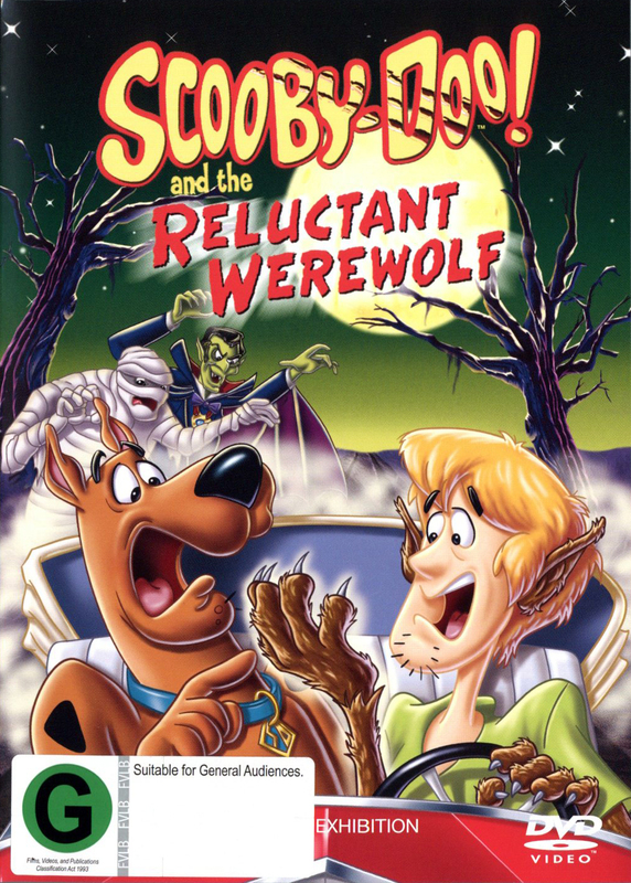 Scooby Doo & The Reluctant Werewolf on DVD