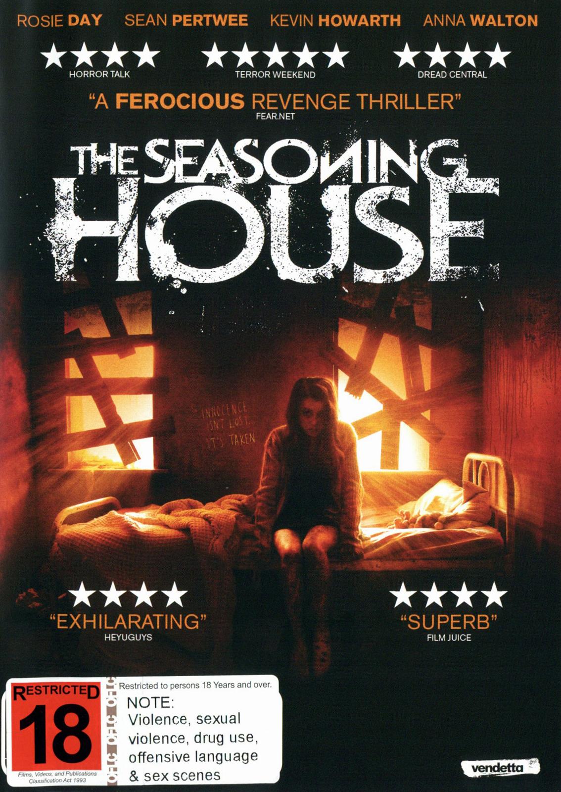 The Seasoning House on DVD image