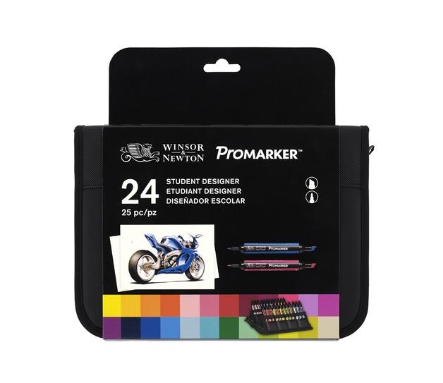 Winsor & Newton Promarker 24 Wallet Set