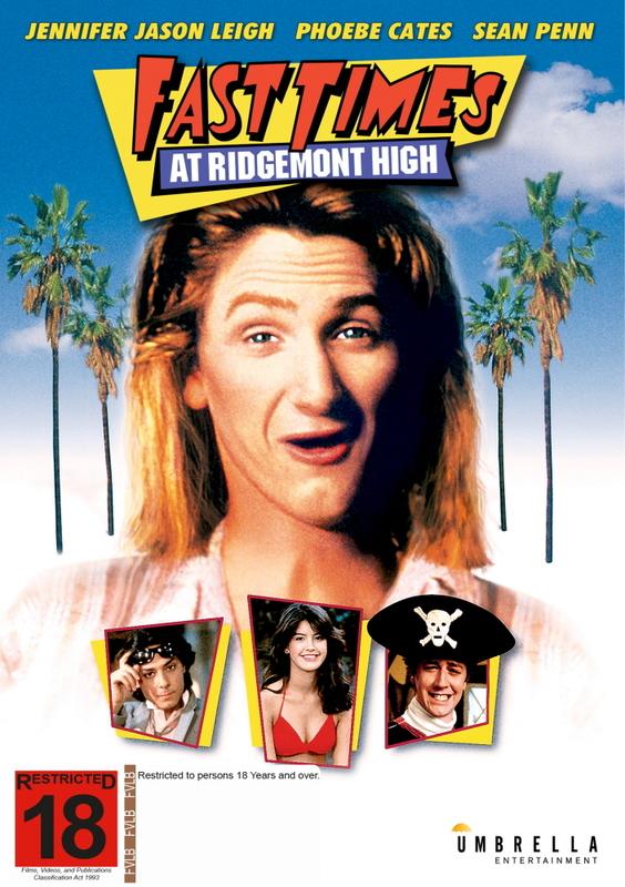 FAST TIMES AT RIDGEMONT HIGH Movie POSTER Rare