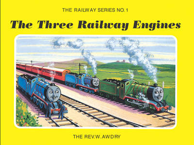 Railway Series No. 1: The Three Railway Engines by Wilbert Vere Awdry image