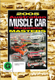 2005 Australian Muscle Car Magazine Masters on DVD image