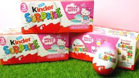 Kinder Surprise [Hello Kitty Edition] - 3 Pack (60g)