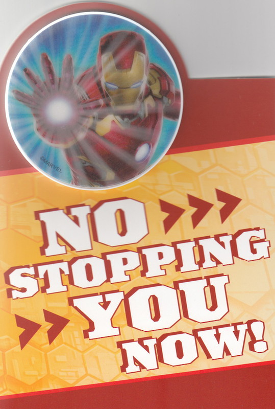 Buy Marvel Iron Man Interactive Birthday Card At Mighty Ape Nz