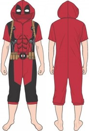 Deadpool Cropped Union Suit (L)