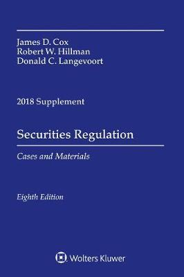 Securities Regulation by James D Cox