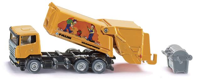 Siku: 1:87 Scania Rubbish Truck with Skip Bin