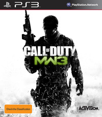 Call of Duty: Modern Warfare 3 for PS3