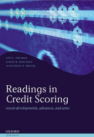 Readings in Credit Scoring by Lyn C. Thomas image