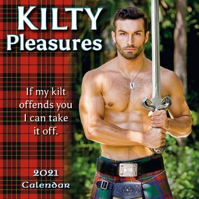 Kilty Pleasures - Mini Calendar 2021 by Sellers Publishing