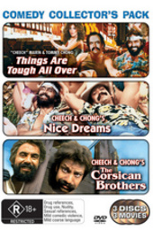 Cheech & Chong - Comedy Collector's Pack (3 Disc Set) on DVD