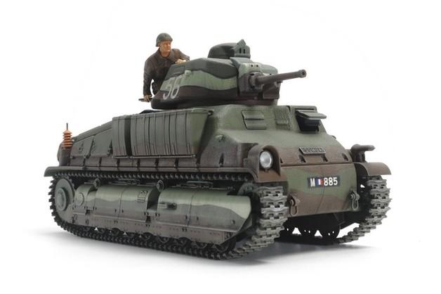 Tamiya 1/35 scale Somue S35 Model Kit