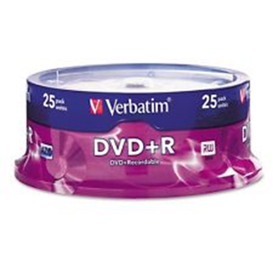 Verbatim DVD+R 4.7GB 25Pk Spindle 16x image