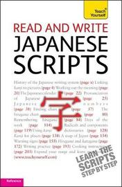 Read and write Japanese scripts: Teach yourself by Helen Gilhooly