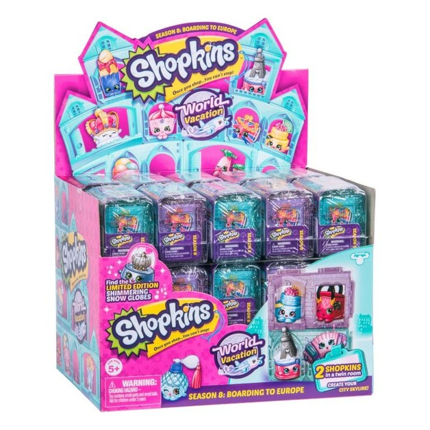 Shopkins: World Vacation - 2 Pack (Series 8 Blind Box)