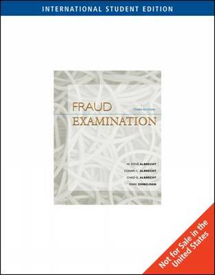 Fraud Examination: With Acl CD-Rom by Conan C Albrecht image