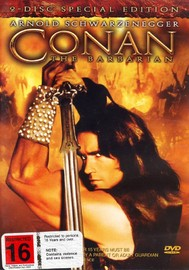 Conan The Barbarian - Special Edition (2 Disc Set) on DVD image